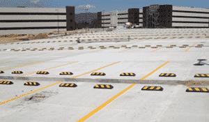 Ubicación correcta de Topes para estacionamiento para autos