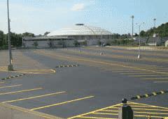 Topes para estacionamiento